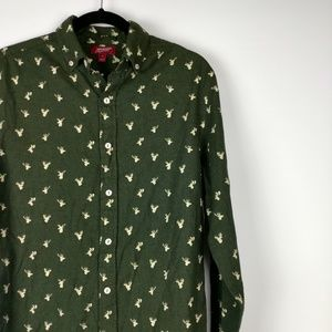 Deer design button up.